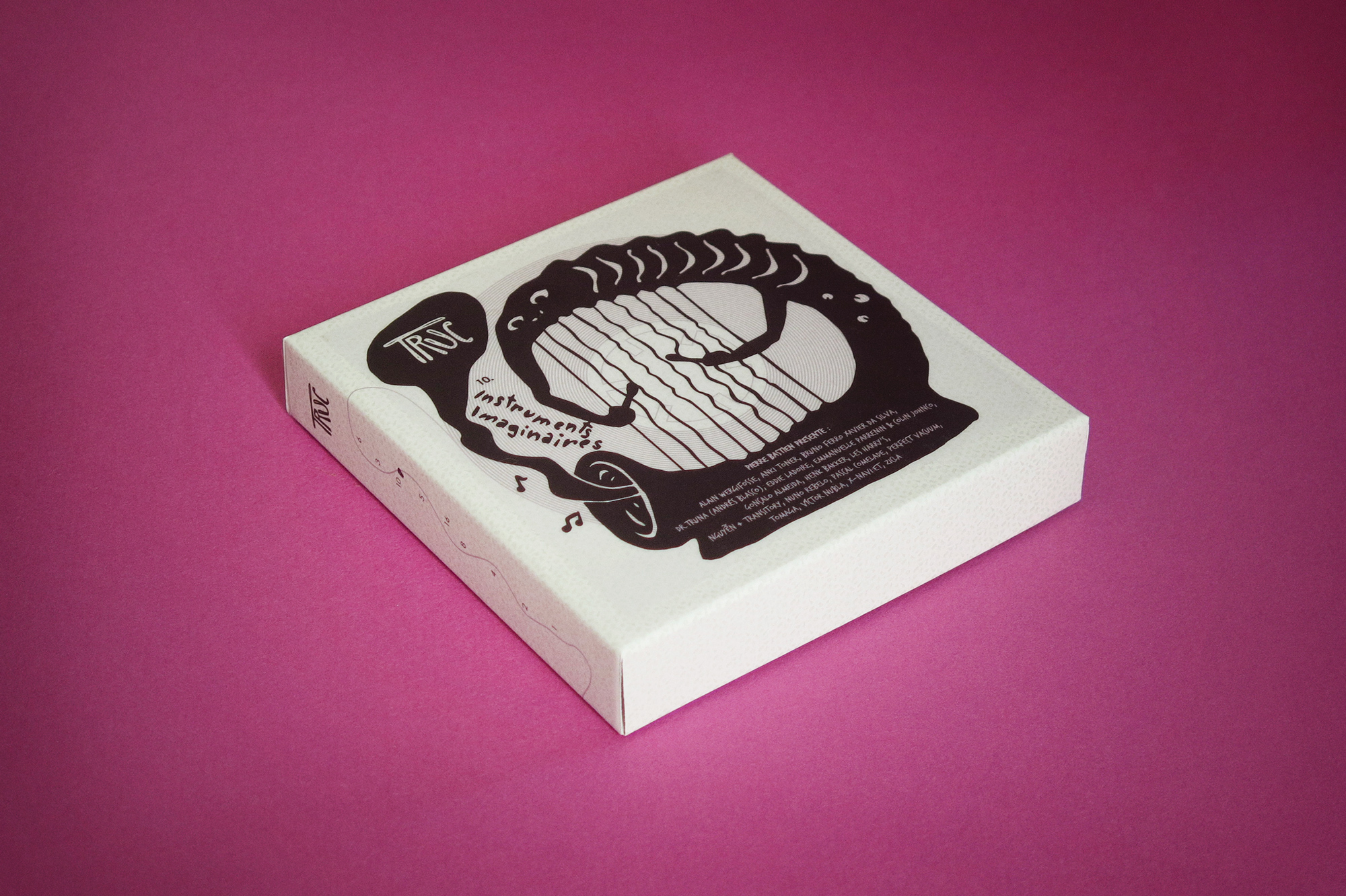 Truc: boxset and audio tape